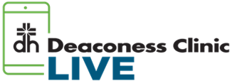 Deaconess Clinic<br />LIVE logo